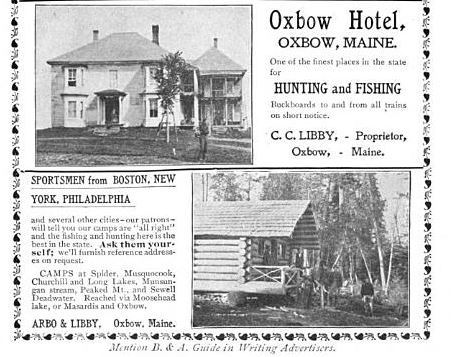 Haunts of the Hunted - 1903 Arbo & Libby and Libby Hotel Ad